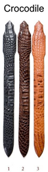 Hornback Crocodile Belts