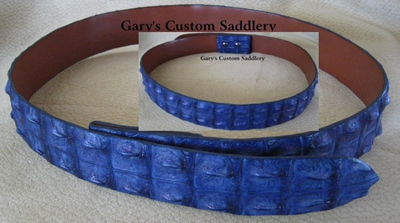Crocodile Hornback Belt