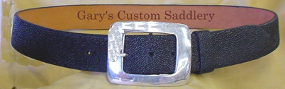 Womens Curved Radius Stingray belt