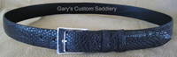 Men's Curved Radius Alligator Belt
