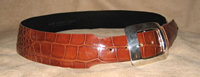 woman's curved belt