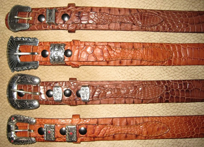 Crocodile Ranger Belts