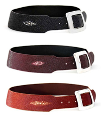 Radius Cut Ladies Belts