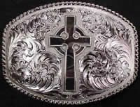 Celtic Irish Cross Buckle