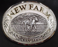 Custom Ranch Buckle