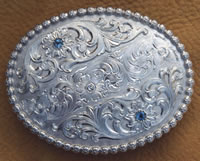Solid Sterling Belt Buckle
