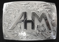 AHM Monogram Buckle