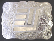 #3 EY Brand Buckle