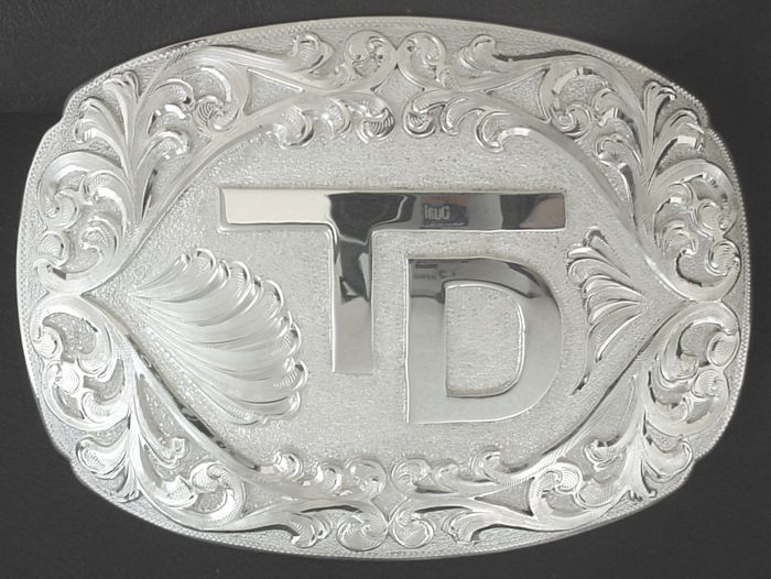 Custom Ranch Brand Buckle