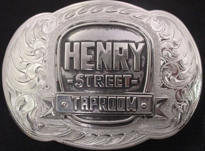 Bar Logo Buckle