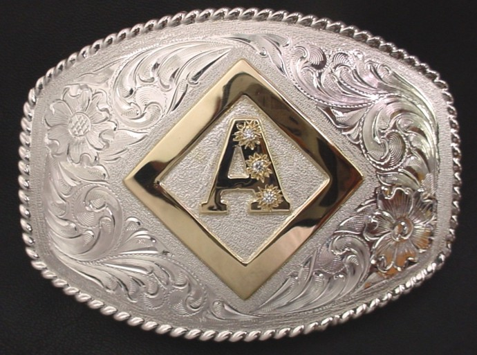 Diamond A Brand Buckle