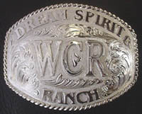 Dream Spirit Ranch Buckle