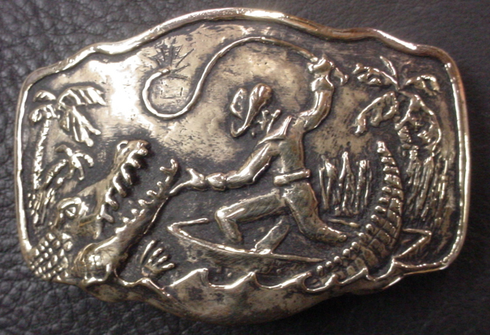 Gator Fighter Buckle