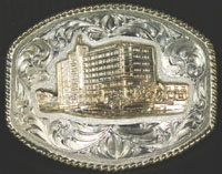 Texoma Medical Center Buckle