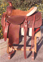 Custom Roping Saddles