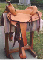 26# Light Weight Trail Saddle