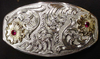 Woman's Fancy Dress Belt Buckle