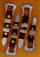 "3/4"" Cast Ranger Buckle Sets"