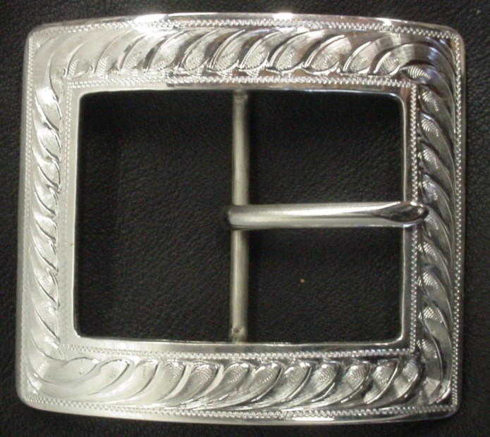 "New 1-1/2"" Center Bar Buckle"