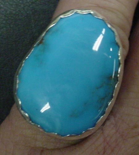 Turquoise 32 ct. Ring