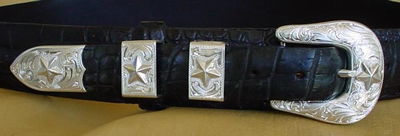 4 Piece Ranger Buckle Set