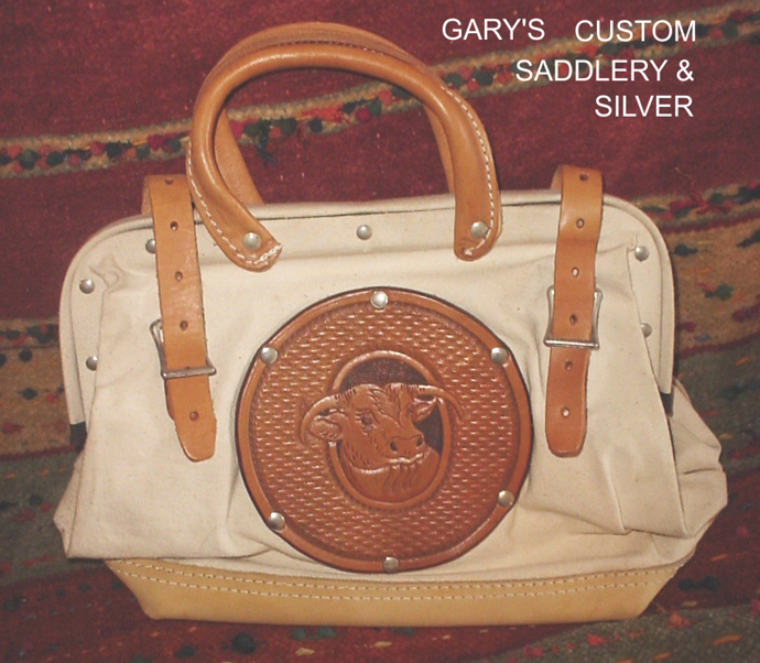 Ladies Roper Purse Bull Purse