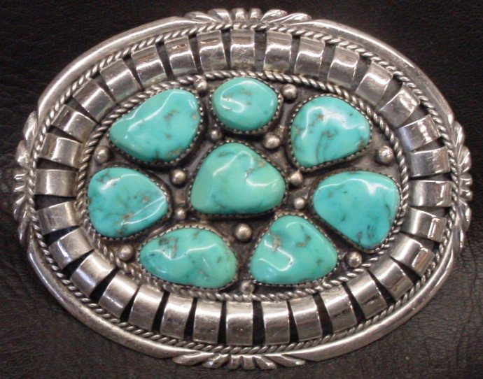 Native American/Southwest Turquoise Buckle