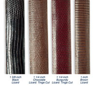 Lizard Skin Belts